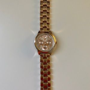 Rose Gold Colored Watch!